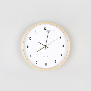 [MICINO] WALL CLOCK NATURAL CL-2952NATHIS IS_